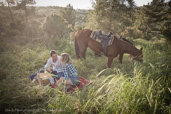 предсвадебная фотосессия с лошадьми