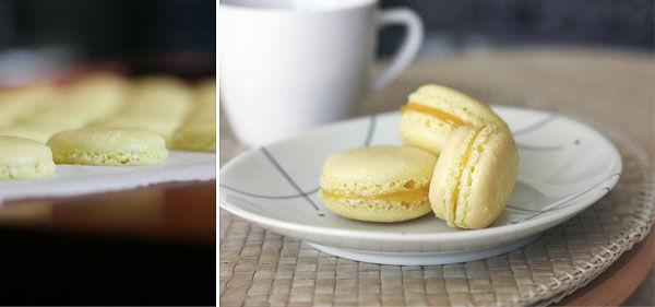 французские пирожные макарон