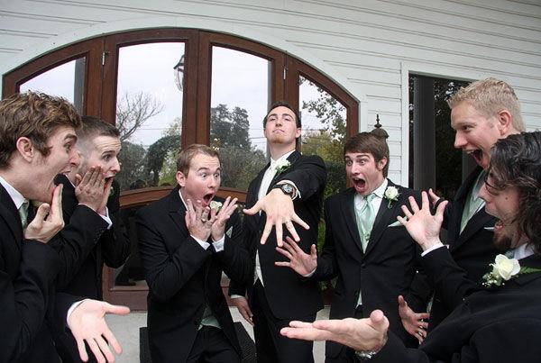 Прикольное фото со свадьбы