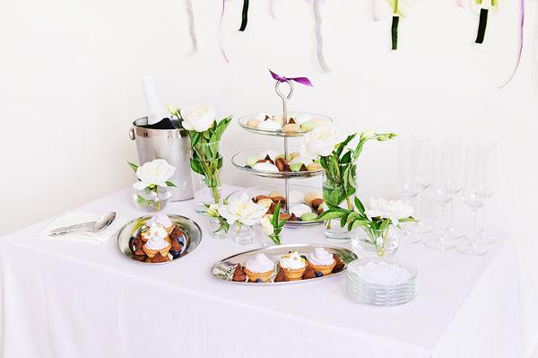 сладкий свадебный стол