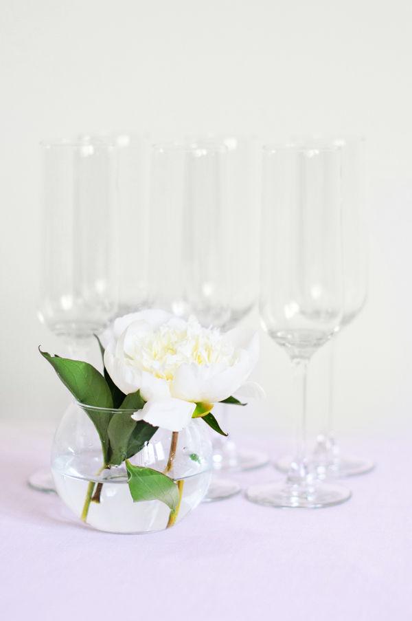 бокалы шампанского на свадьбе