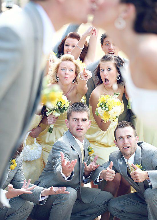 общее свадебное фото