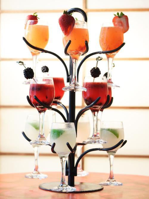 свадебные коктейли