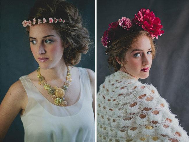 свадебные прически 2012 с цветами