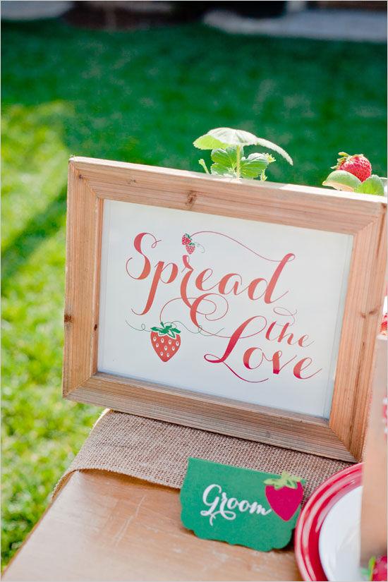 свадебные таблички на стол