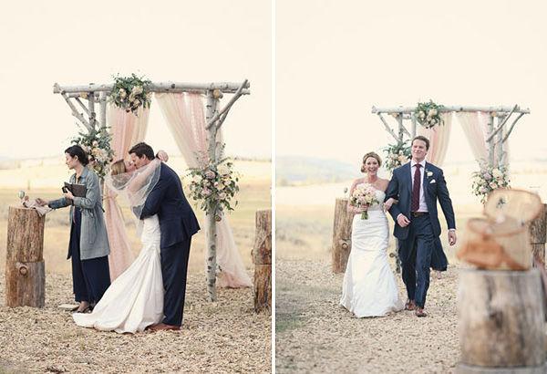 свадебные фото молодоженов