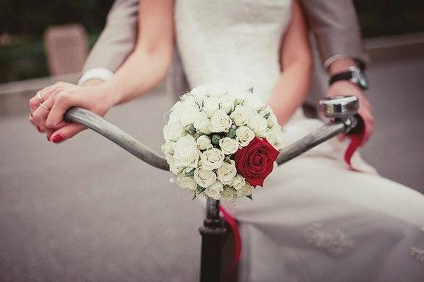 фотосессия на велосипеде