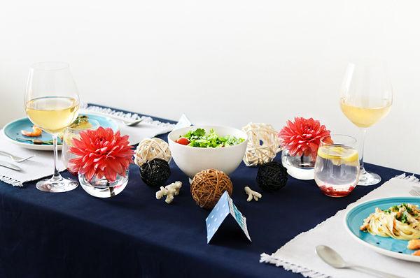 сервировка стола на свадьбу