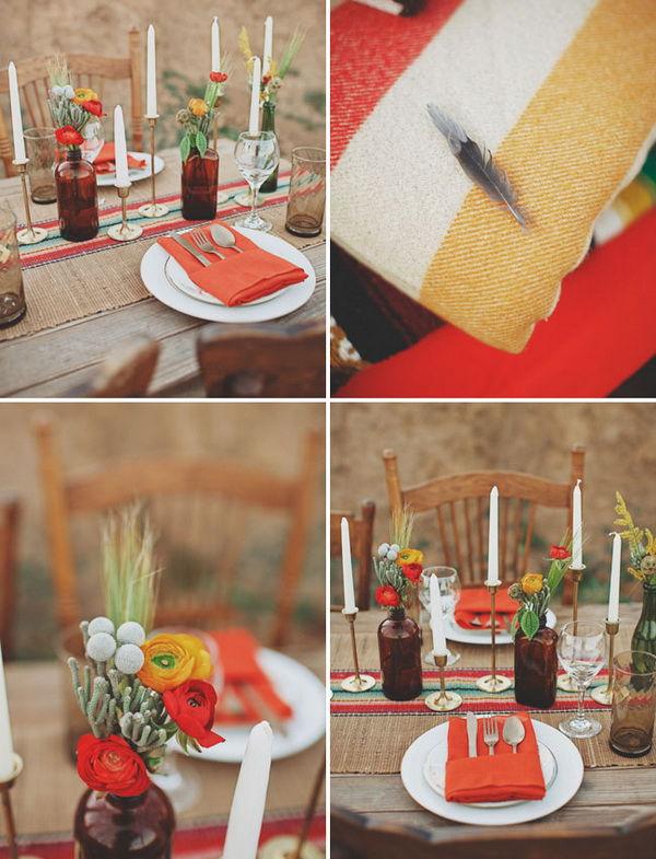 как оформить свадьбу в стиле инди