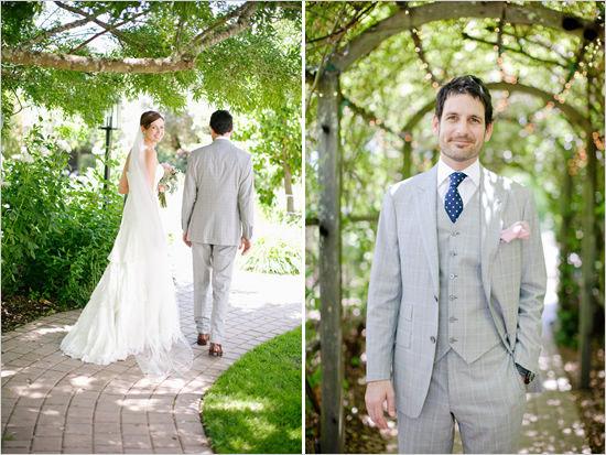 свадебный фотосессия на природе