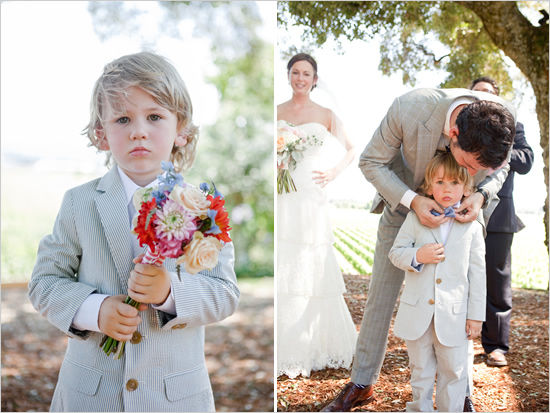 маленькие дети на свадьбе