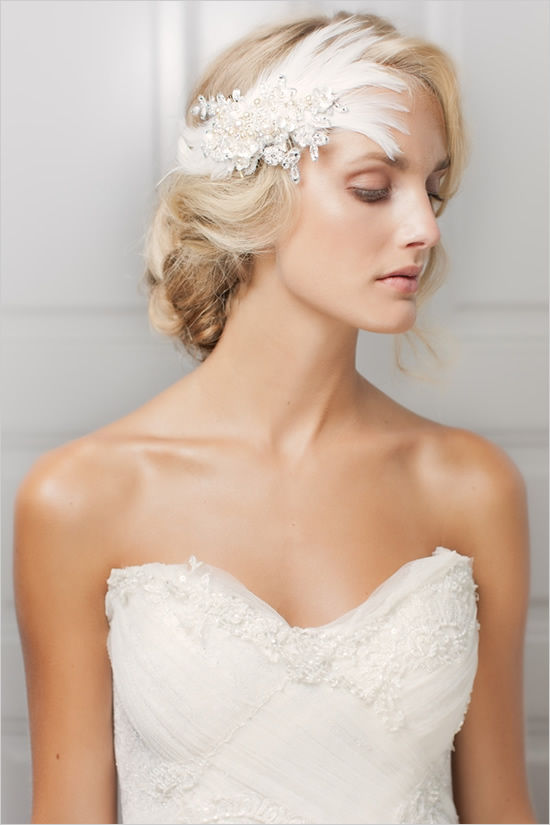 украшения для свадебной прически