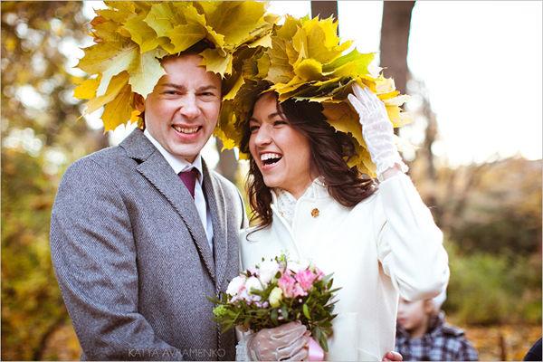 свадьба в осеннем стиле