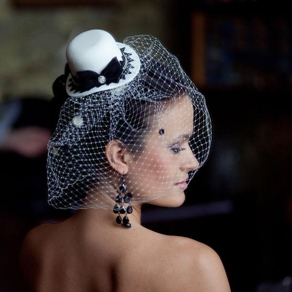 вуалетка невесты