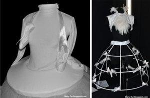 экстравагантные свадебные платья