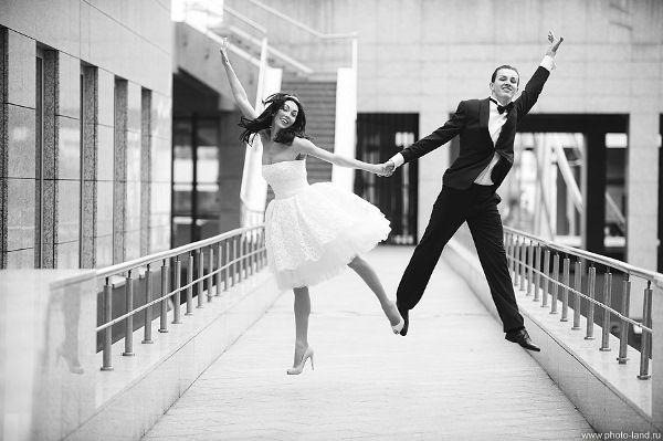 свадьба танцоров