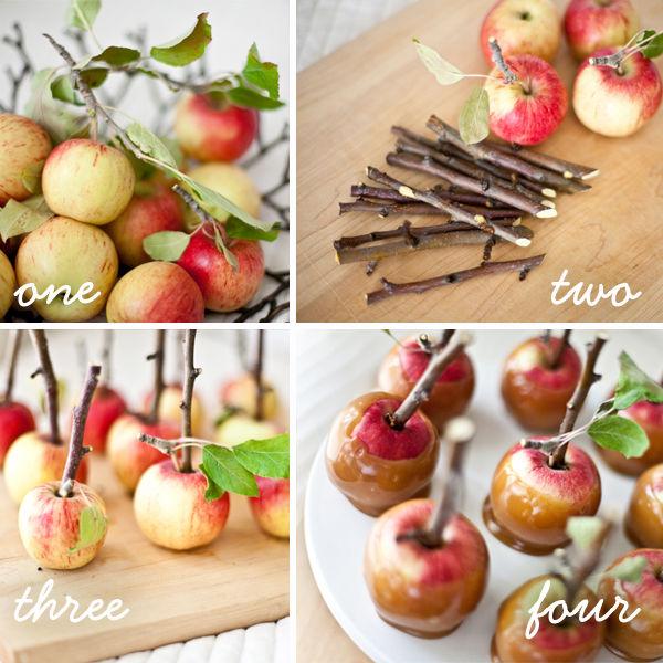 яблоки в карамели рецепт