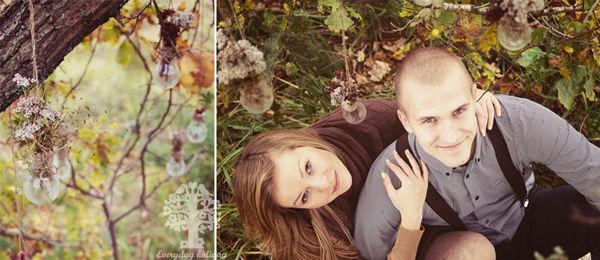 фотосесси лавстори осенью