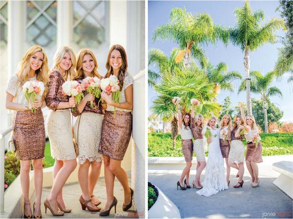 подружки невесты на свадьбе