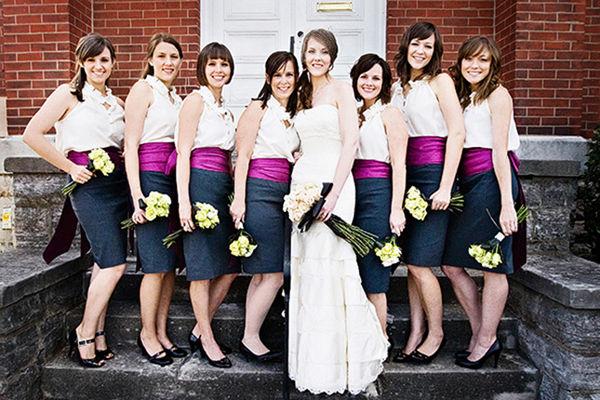 подружки невесты в юбках