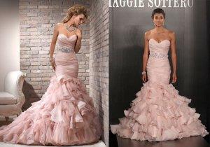 свадебные платья коллекция 2013