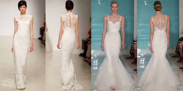 свадебные платья кружевные фото