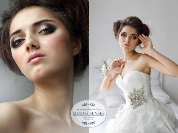 экстравагантный образ невесты