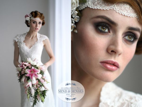 образ невесты ретро