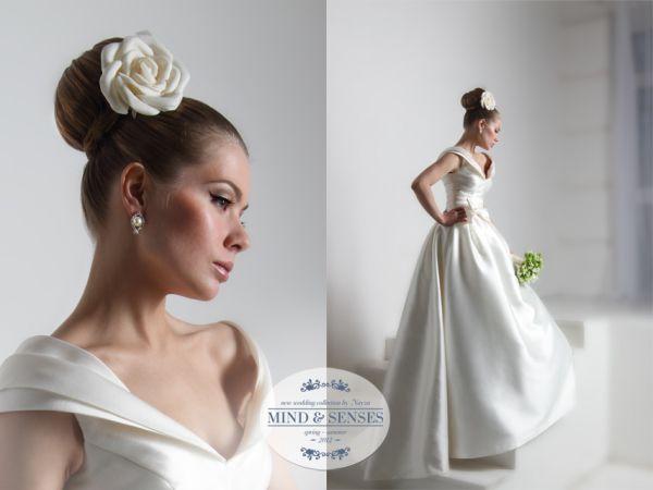 невеста в европейским стиле