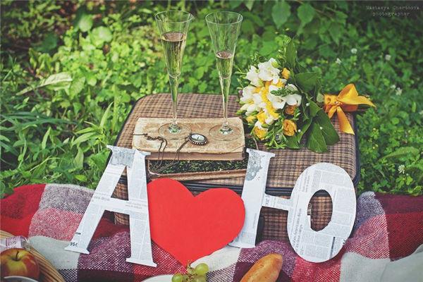 оформление свадебной фотосессии