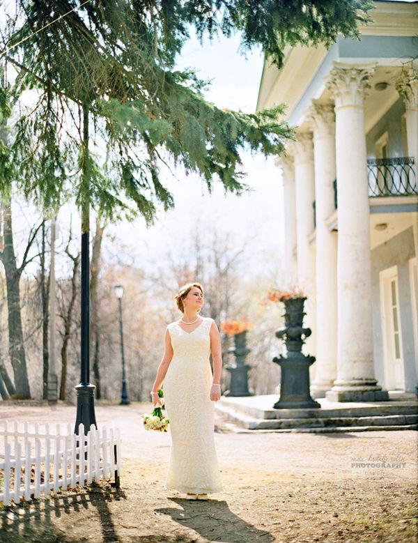 образ невесты в стиле ретро