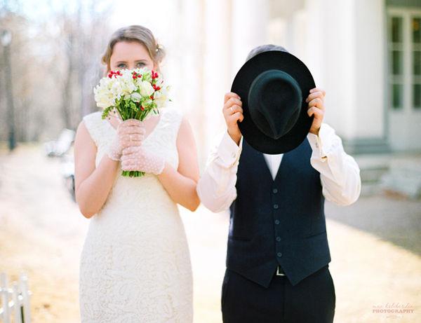 ретро фотосессия на свадьбу
