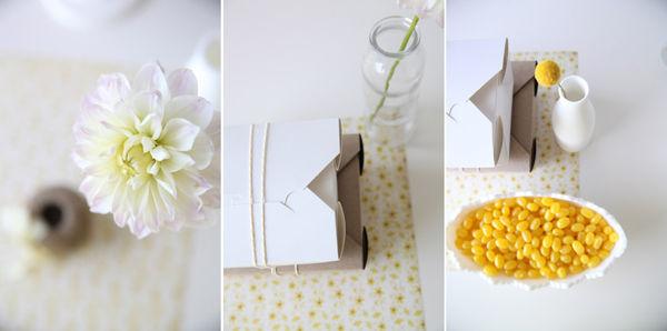 желтые детали на свадьбе