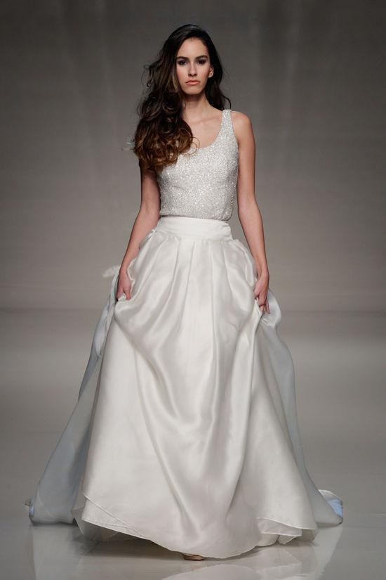 свадебные коллекции 2013