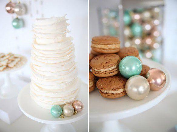 новогодняя свадьба сладкий стол