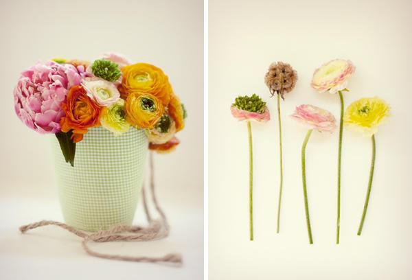 горшочки с цветами мастер класс