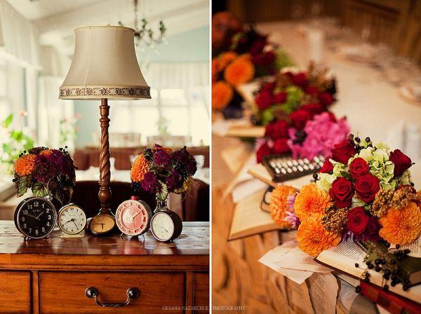 винтажная свадьба декор