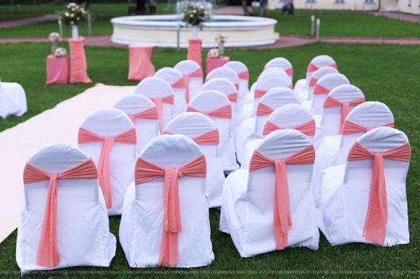 свадьба в персиковых цветах