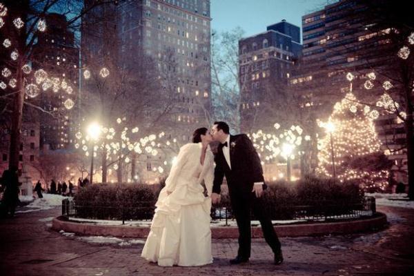 свадьба под новый год