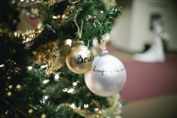 декор свадьбы под новый года