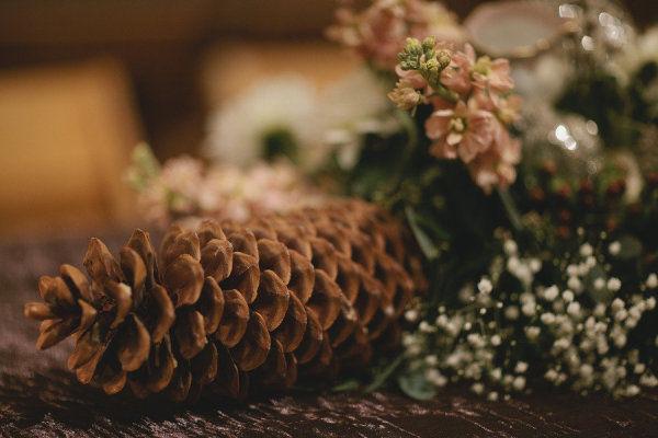 оформление рождественской свадьбы