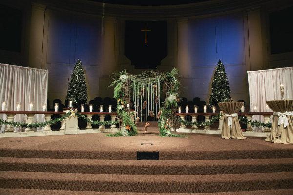 новогодняя свадьба оформление