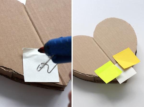 как сделать сердце из картона