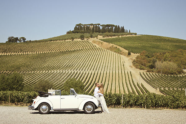 свадьба в Италии Тоскана