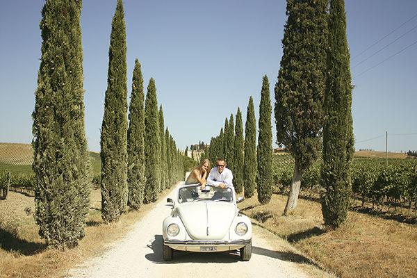 love story летом Италия