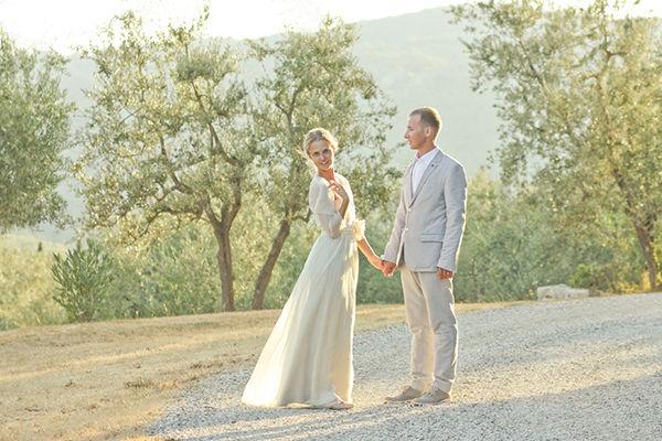свадебная фотосессия на природе Италия