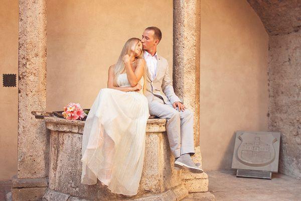 love story фотосессия в италии