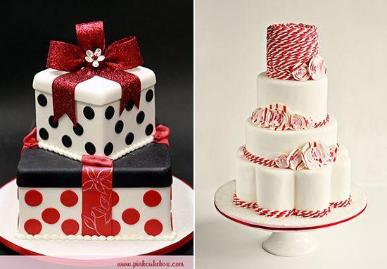 торт на новогоднюю свадьбу