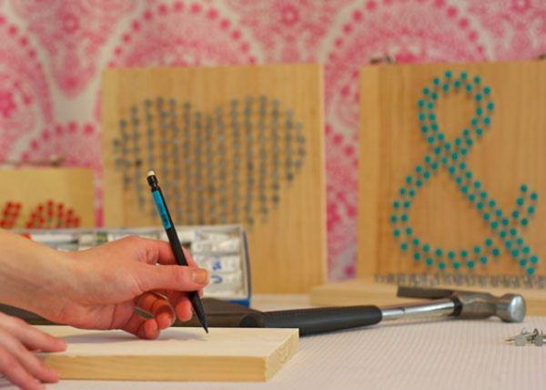 деревянные таблички на свадьбу
