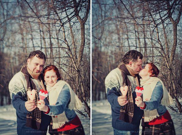 зимняя love story